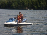 Boating in Muskoka