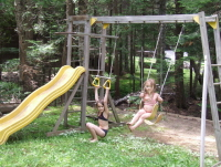 Swinging at Three Mile Lake #22