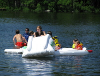 Kids Fun at Three Mile Lake