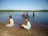 Kids Play at Buck Lake #7
