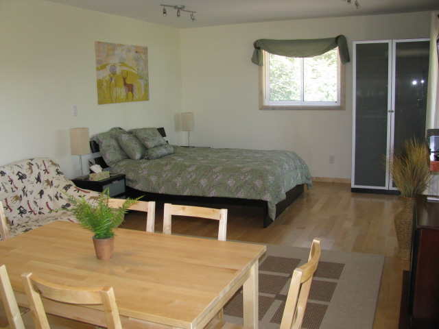 Buck Lake Cottage Rental #3-13 ~  Additional sleeping /living area with Queen bed and double Futon