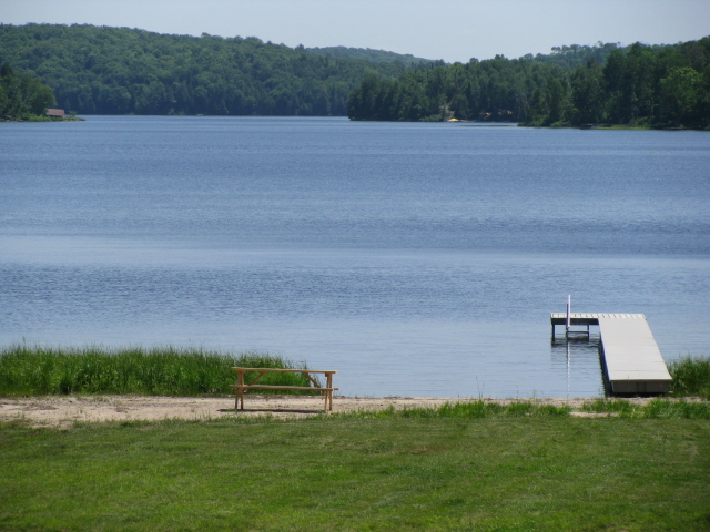 Buck Lake Cottage Rental #3-28~ View of Buck Lake