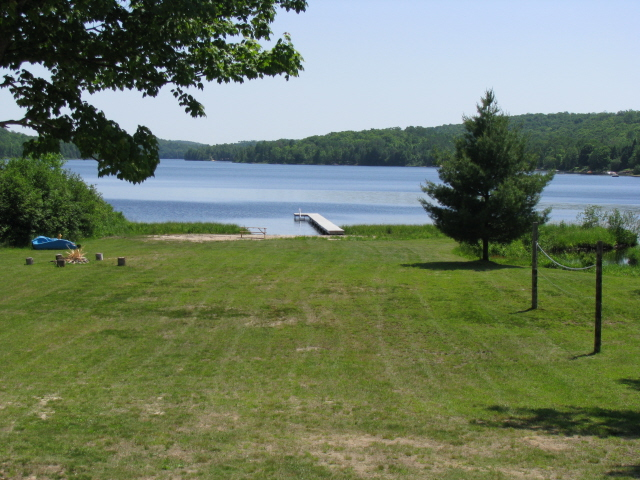 Buck Lake Cottage Rental #3-29~ View from Deck