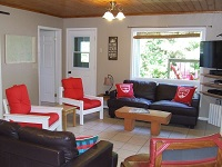 Buck Lake Cottage Rental #7-13 ~ Living Room