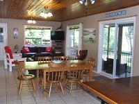 Buck Lake Cottage Rental #7-14 ~ Living Room