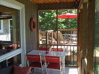 Buck Lake Cottage Rental #7-5 ~ Three Piece Bathroom Upstairs